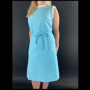 60s Joan Curtis Sleeveless Shift Dress